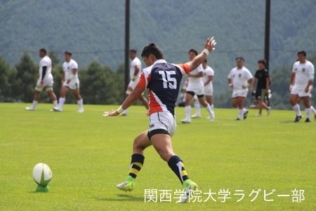 2017/08/23  【菅平合宿】 vs大東文化大学A