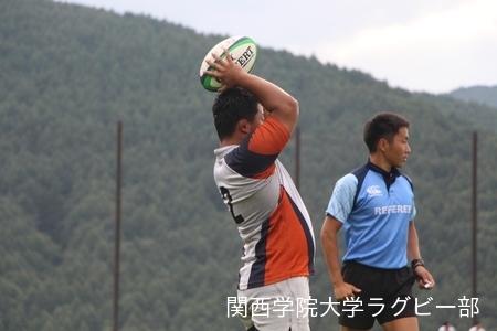 2017/08/23  【菅平合宿】 vs大東文化大学B