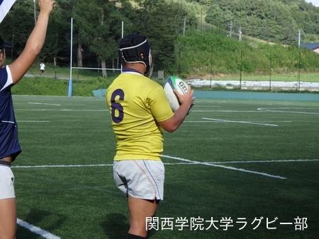 2017/08/24  【菅平合宿】 vs学習院大学A