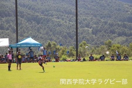 2017/08/24【菅平合宿】vs中央大学C