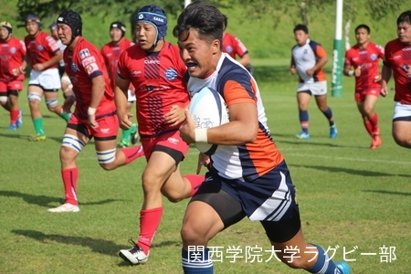 2017/08/24【菅平合宿】vs中央大学B
