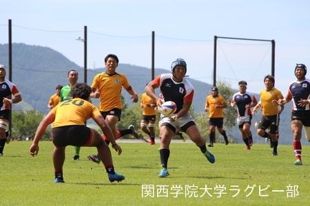 2017/08/26  【菅平合宿】 vs拓殖大学A