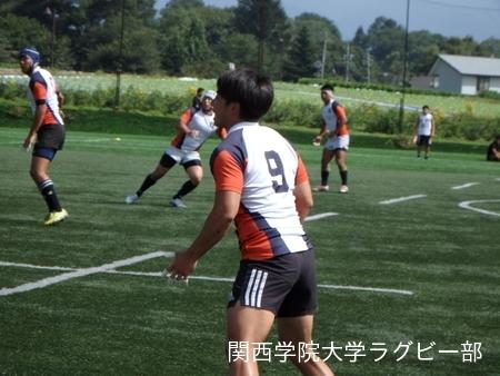 2017/08/27【菅平合宿】vs流通経済大学D