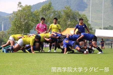 2017/08/27  【菅平合宿】 vs拓殖大学C