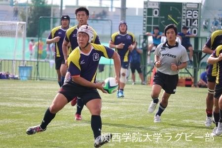 2017/10/07 vs大阪体育大学C