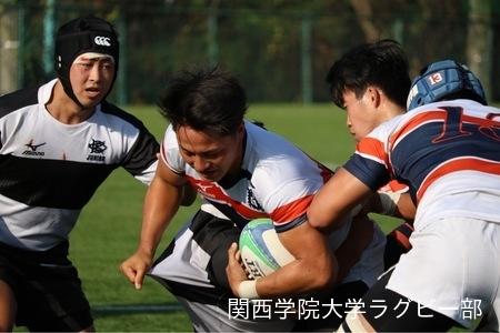 2017/10/07 vs大阪体育大学Jr