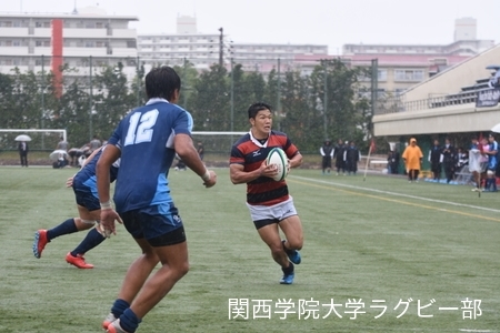 2017/10/15 【Aリーグ】vs近畿大学