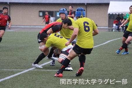 2017/10/21 vs天理大学D