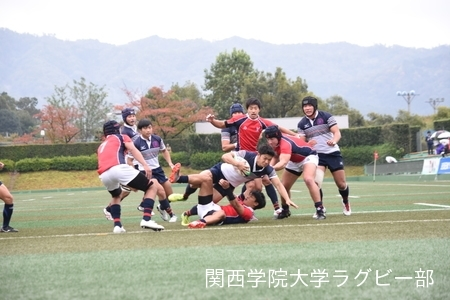 2017/10/28 【Aリーグ】vs京都産業大学