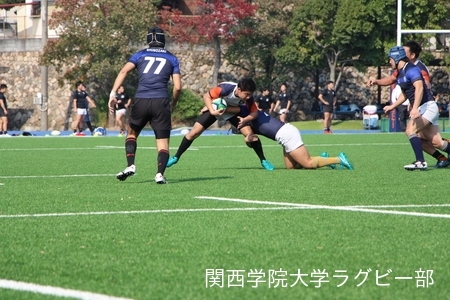 2017/11/3 vs同志社大学D