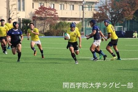 2017/11/3 vs同志社大学C