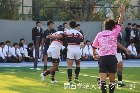 2017/11/3 【ジュニアリーグ】vs同志社大学