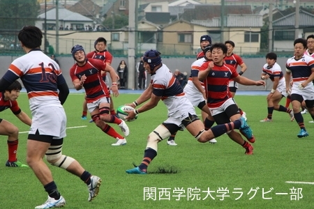 2017/11/18 【ジュニアリーグ】 vs京都産業大学